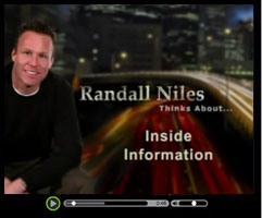 Inside Information - Watch this short video clip